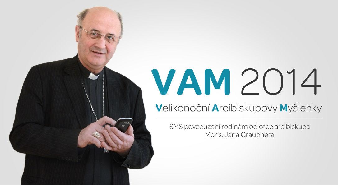 Využijme nabídky inspirovat se velikonočními myšlenkami otce arcibiskupa